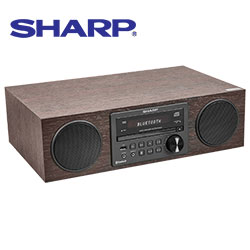 Sharp CB-BH20 All-in-One Bluetooth System & CD Player