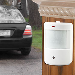 Silicon Scientific Infrared Motion Driveway Alarm