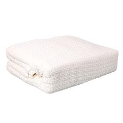 Lintex Linens Marquis Ivory Blanket