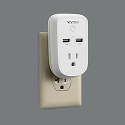 Vivitar HA-1009 Wifi Outlet with Timer