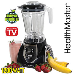 Open Box HealthMaster Elite Blender