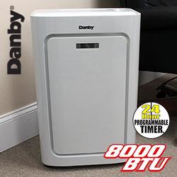 Open Box Danby 8000 BTU Portable A/C