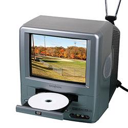 Broksonic CCVG-297 9 Inch TV/DVD System