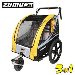Zumu 3-in-1 Stroller/Jogger/Trailer