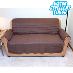 Love Seat Protector - Brown