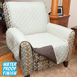 Reversible Chair Cover - Tan