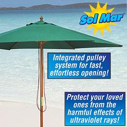 Solmar Green Market Umbrella