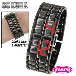 LED Bracelet Watch - Womens