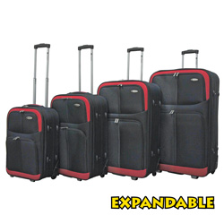 4-Piece Chariot Luggage Set