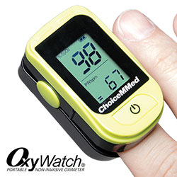 Choicemmed Pulse Oximeter with Pulse Bar Reading