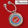 Marines JFK Key Ring