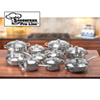 19 Piece Stainless Steel Cookware Set