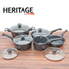 Heritage 10-Piece Cast Aluminum Cookware