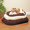 Memory Foam Dog Bed 18x30 - Chocolate