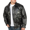 Napoline Roman Rock Design Genuine Leather Jacket