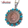 Indian Penny Pendant