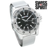 Swiss Spirit Mesh Sports Watch - Black