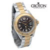Croton Two-Tone Watch - Black