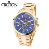Croton Blue Dial Chronograph Watch