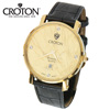 Croton Gold and Diamond Watch