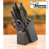 7 Piece Ceramic Knife Set with Block
