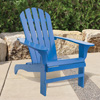 Cedar Adirondack Chair - Blue