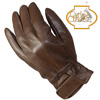 Womens Lambskin Gloves - Brown