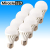 8-Pack Natural Daylight LED Bulbs