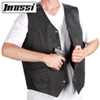 Mossi Leather Concealment Vest