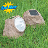 Solar Rock Lights - Set of 2