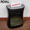Royal 12-Sheet Cross Cut Shredder