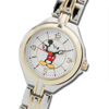 Mickey Mouse Two-Tone Gold Watch - Womens