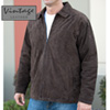 Mens Brown Suede Jacket