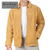 Mens Cognac Suede Jacket