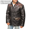 Western Leather Sport Coat