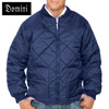 Quilted Zip Jacket - Navy