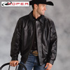 Roper Lambskin Bomber Coat
