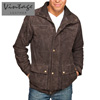 Hip Length Suede Jacket