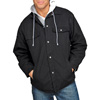 Utility Pro Jacket with Fleece Hood - Black