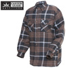 Quilt-Lined Flannel - Brown