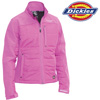 Dickies Womens Puffer Jacket - Pink