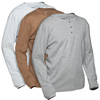 Long Sleeve Henleys - 3 Pack