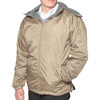 Fleece Reversible Jacket - Tan