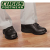 Coggs Black MensCare Shoes