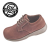 Dr. Zen Brown Suede Oxfords