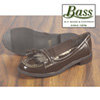 Bass Womens Brown Patent Loafers