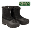Womens Black Coggs Snow Boots