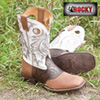 Rocky White Boots