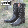 Ferrini Python Boots - Black