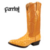 Mens Ferrini Ostrich Boot